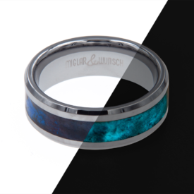 Ring Glow - Miglar&Wunsch - Tungsten - Glow Ring - Archon - handgemacht | Shoperino.at