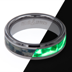 Ring Glow - Miglar&Wunsch - Tungsten Glow Ring - Guardion - handgeamcht | Shoperino.at