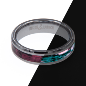 Ring Glow - Miglar&Wunsch - Tungsten Glow Ring - Screwbee - handgemacht | Shoperino.at